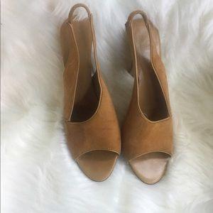 Christian Dior suede heels.